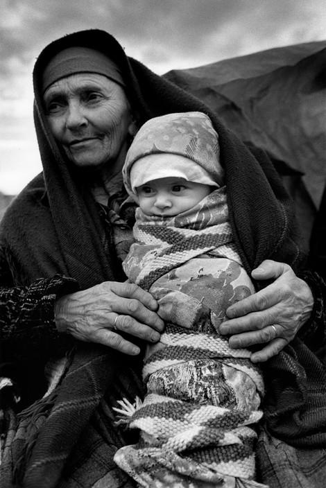 ALBANIA. Refugees from Kosovo. 1999.