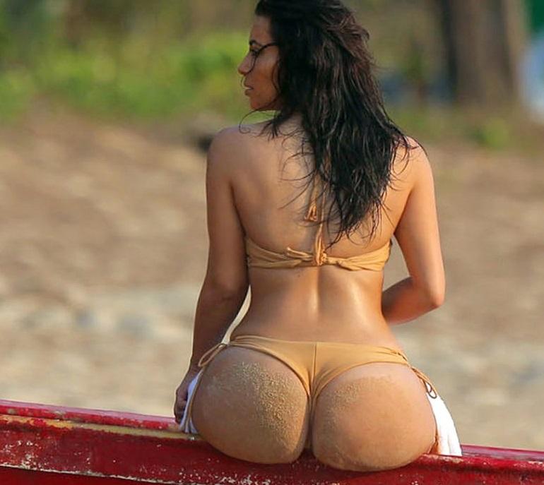 Kim-Kardashian-Thong-Bikini-Pictures