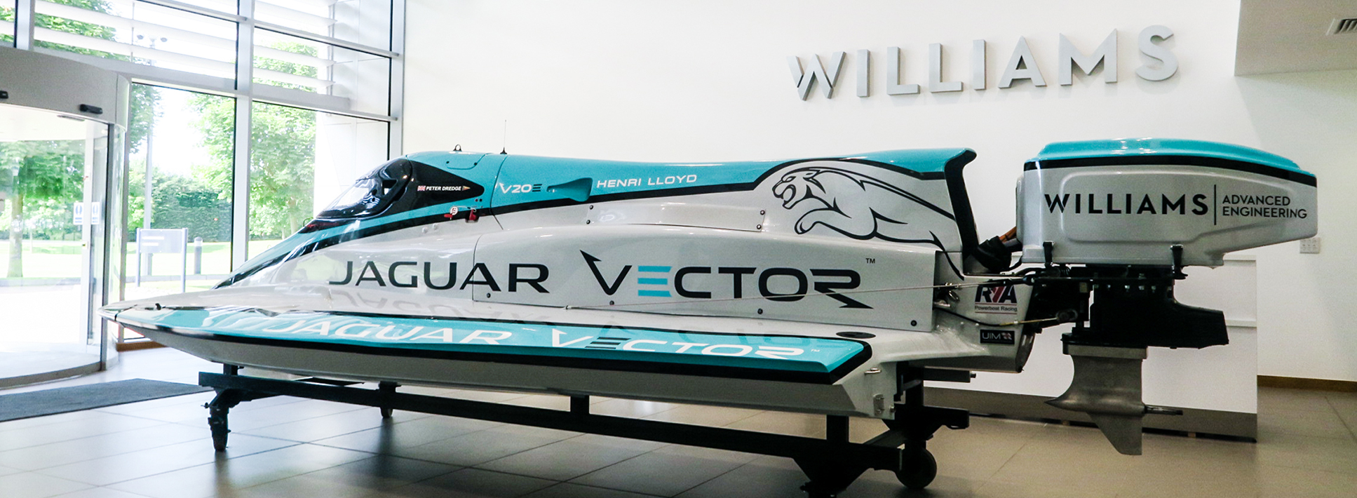 Jaguar boat banner 1