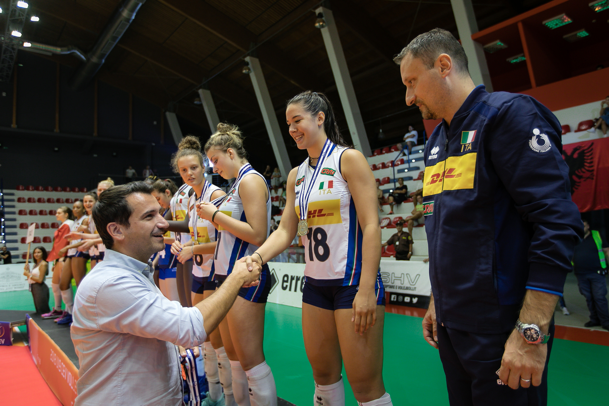 Veliaj ne finalen e kampionatit evropian te volejbollit per femra (1)