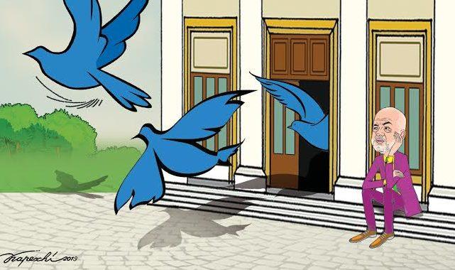 Fluturon… mandati: Mos i humbisni këto karikatura të Kapexhiut