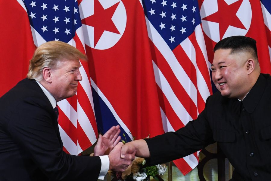 Trump dhe Kim Jong-Un
