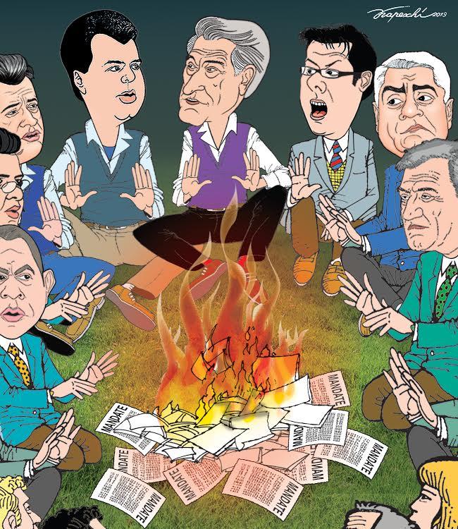 Kapexhiu 'sjell' zjarrin opozitar