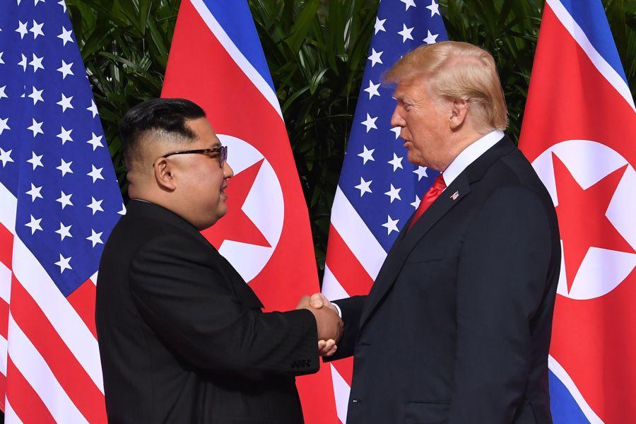 trump dhe Kim Jong-Un2