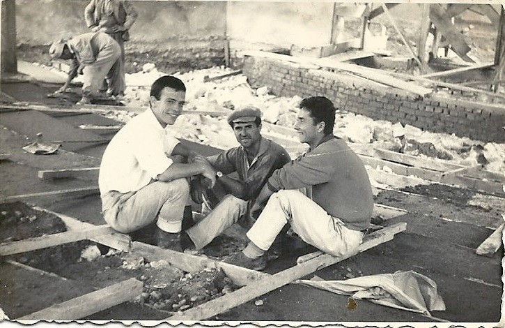 Sokol Mirakaj, Qemal Gashi, Hajredin Nasufi (Dine Dine) ne Saver