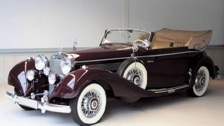 Zbulohet historia e Mercedesit që Hitleri i dhuroi Zogut
