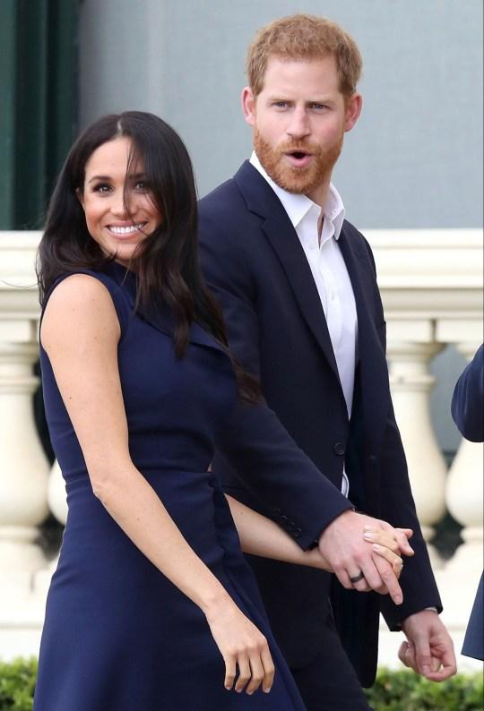 Princ Harry dhe Meghan3