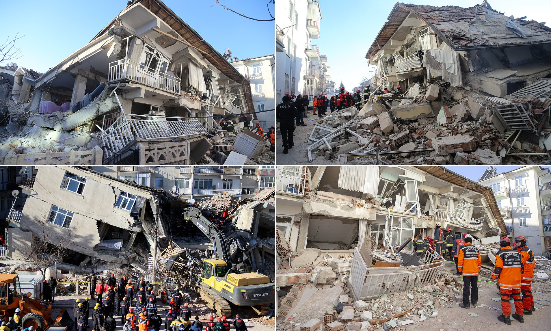 Tërmeti në Turqi, shkon në 22 numri i të vdekurve, mbi 1 mijë të plagosur (Foto dramatike) - Gazeta Mapo