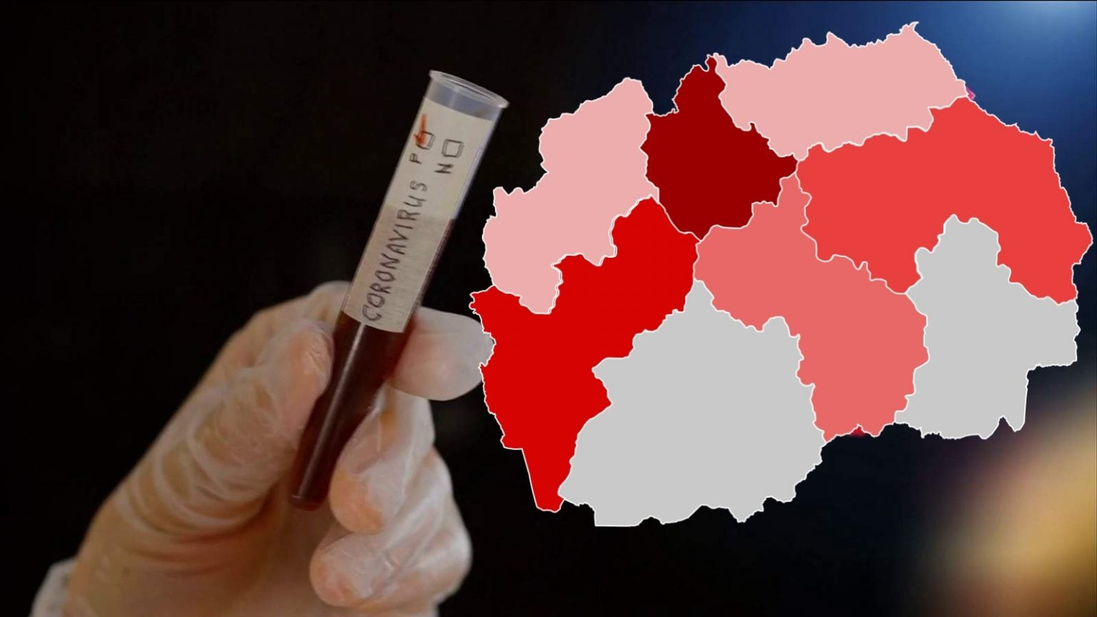 Maqedoni e Veriut  6 viktima dhe 205 të infektuar me COVID 19 në 24 orët e fundit