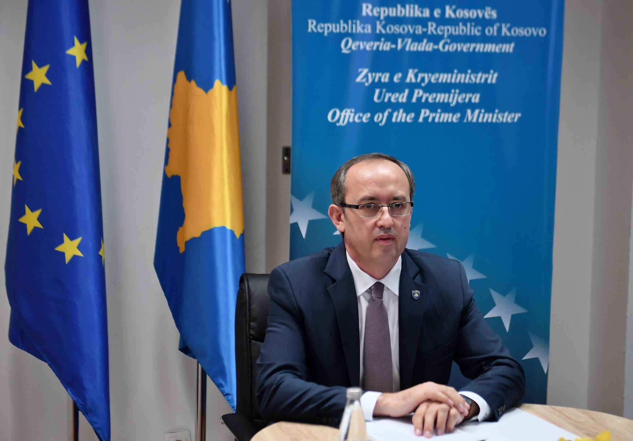 Hoti  kërkesë BE së  Në marrëveshjen me Serbinë  të përfshihet edhe njohja nga pesëshja europiane