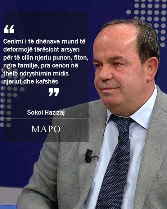Sokol Hazizaj: Cenimi i të dhënave mund të deformojë tërësisht arsyen…