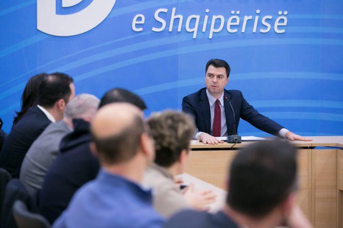 Basha mbledh strukturat e PD, në fokus zgjedhjet e 25 prillit