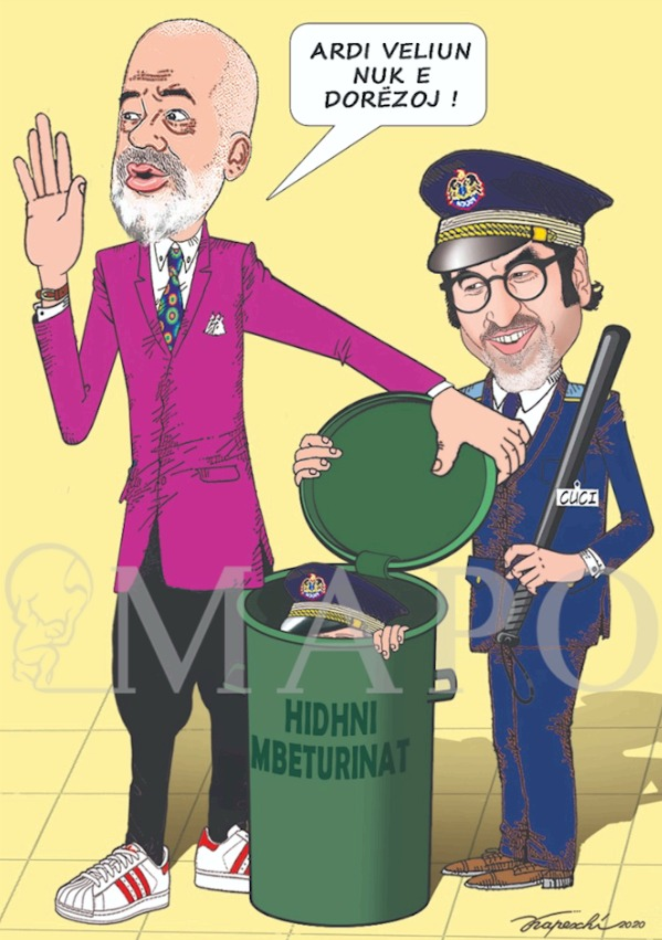 Vendosmëri policore