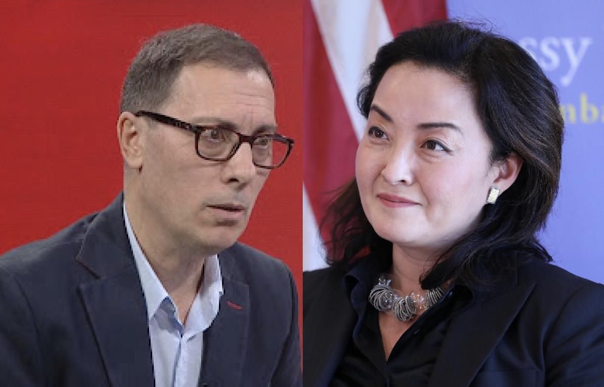 Deklaratat për Berishën/ Adi Krasta-Yuri Kim: Jeni një diplomate e dobët