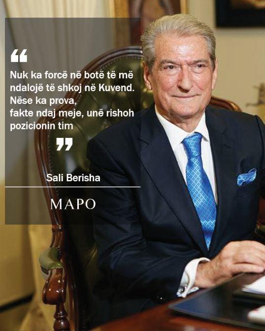Berisha: Nuk ka forcë në botë të më ndalojë…