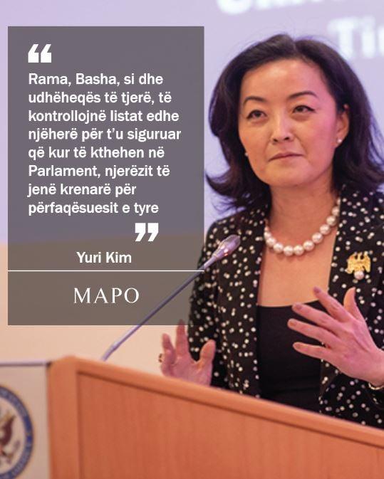 Yuri Kim: Rama dhe Basha të kontrollojnë listat edhe njëherë…